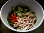 Brown Rice Salad with Chicken